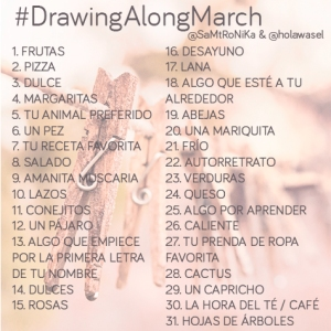 drawing-along-march